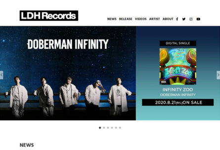 LDH Records OFFICIAL SITE