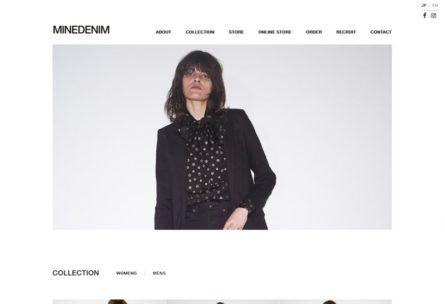 MINEDENIM オフィシャルブランドサイト