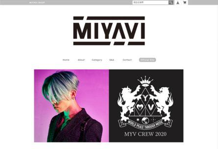 MIYAVI SHOP