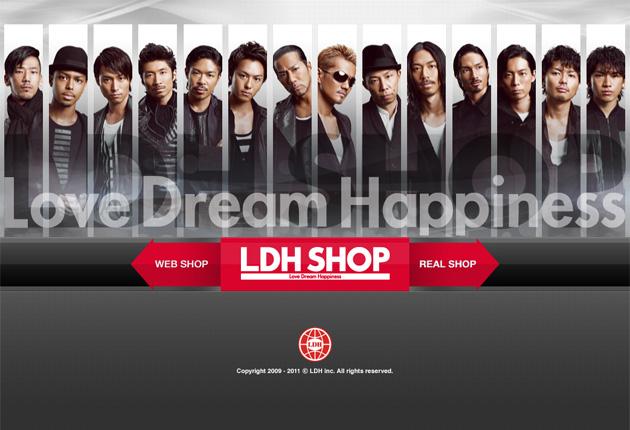 LDH SHOPのイメージ
